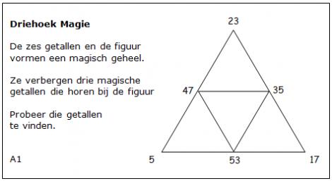 Magische driehoeken t2